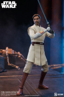 STAR WARS : CLONE WARS - Obi Wan Kenobi 1/6 Actionfigur 30 cm Sideshow
