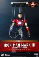 IRON MAN - Iron Man Mark III Construction Version 1/6 Actionfigur Hot Toys
