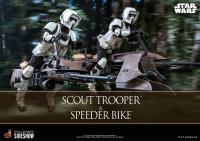 STAR WARS VI - Scout Trooper & Speeder Bike 1/6 Actionfigur Hot Toys