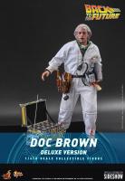 ZURÜCK IN DIE ZUKUNFT - Doc Brown DELUXE 1/6 Actionfigur 30 cm Hot Toys