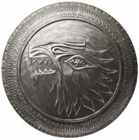 GAME OF THRONES -   Stark Infanterie-Schild 1/1 Replik