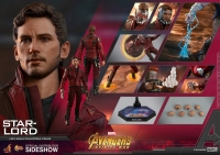 AVENGERS : INFINITY WAR - Star Lord 1/6 Actionfigur 30 cm Hot Toys