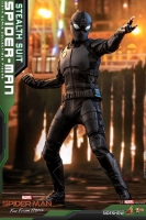 SPIDERMAN : FAR FROM HOME - Spiderman Stealth Suit 1/6 Actionfigur Hot Toys