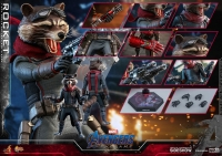AVENGERS : ENDGAME - Rocket 1/6 Actionfigur 16 cm Hot Toys