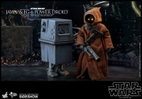 STAR WARS E4 - Jawa & EG-6 Power Droid 1/6 Actionfigur Hot Toys