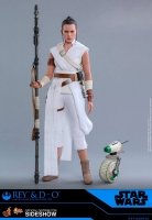 STAR WARS IX - Rey & D-O Doppelpack 1/6 Actionfigur Hot Toys