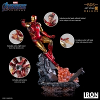 AVENGERS : ENDGAME - Iron Man Mark LXXXV DELUXE BDS Art Scale 1/10 Statue Iron Studios