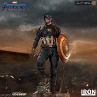 AVENGERS : ENDGAME - Captain America Legacy 1/4 Statue Iron Studios