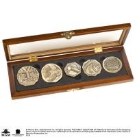 DER HOBBIT - Dwarven Treasure Münzen Repliken Noble Collection