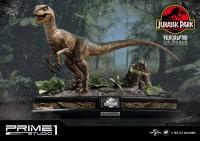 JURASSIC PARK - Velociraptor 1/6 Statue 41 cm Prime 1