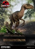 JURASSIC PARK - Velociraptor Closed Mouth 1/6 Statue 41 cm Prime 1