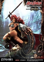 RED SONJA - She Devil with a Vengeance DELUXE Statue 79 cm Prime 1