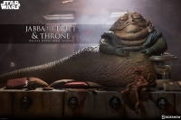 STAR WARS E6 - Jabba The Hutt & Thron DELUXE 1/6 Actionfigur Sideshow