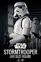STAR WARS - Stormtrooper Life-Size Statue 198 cm Sideshow