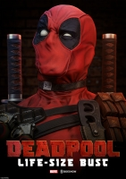 MARVEL COMICS - Deadpool 1/1 Büste 71 cm Sideshow