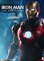 THE AVENGERS - Iron Man Mark VII Life Size Statue 210 cm Sideshow