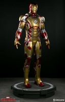 IRON MAN 3 - Iron Man Mark 42 Life Size Statue 215 cm Sideshow