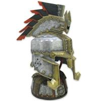 DER HOBBIT - Helm von Dain Eisenfuß 1/1 Replik 56 cm United Cutlery